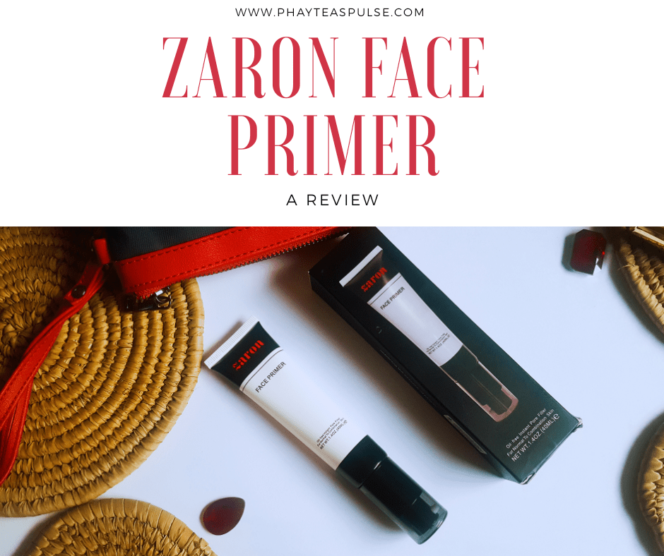 Product Review: Zaron Face Primer
